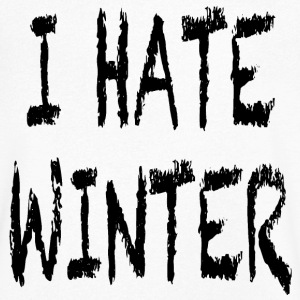 I hate winter T-Shirts - Men's V-Neck T-Shirt