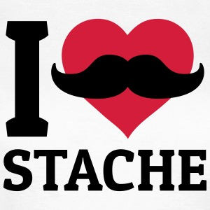 I love Stache T-Shirts - Women's T-Shirt