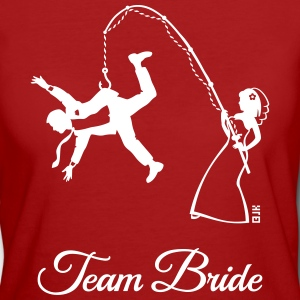 Team Bride Husband Fishing (Hen Party 1C) T-Shirts - Women's Organic T-shirt