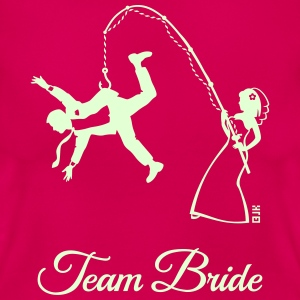 Team Bride Husband Fishing (Hen Party 1C) T-Shirts - Women's T-Shirt