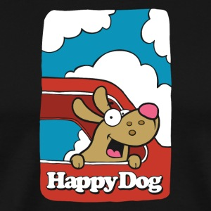 Happy_Dog - Männer Premium T-Shirt