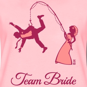 Team Bride Husband Fishing (Hen Party 2C) T-Shirts - Women's Premium T-Shirt