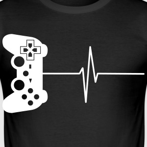 Gamers 4ever 6 T-shirts - Herre Slim Fit T-Shirt