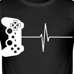 Gamers 4ever 6 T-skjorter - Slim Fit T-skjorte for menn