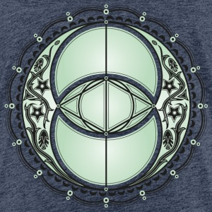 Vesica Piscis, Chalice Well, Avalon, magic, celtic T-shirts - Premium-T-shirt tonåring
