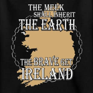 The brave get Ireland Shirts - Teenage T-shirt