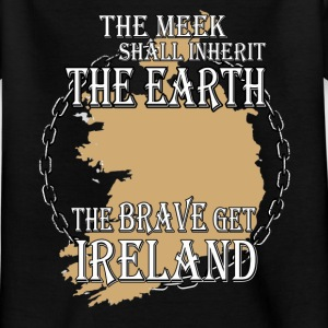The brave get Ireland Shirts - Kids' T-Shirt
