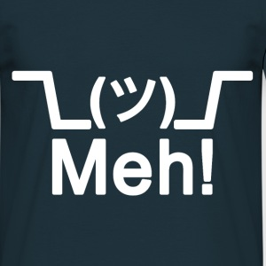 Shrug! Meh! T-shirt - Men's T-Shirt