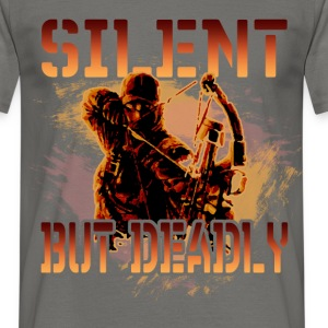 Silent but deadly - Men's T-Shirt