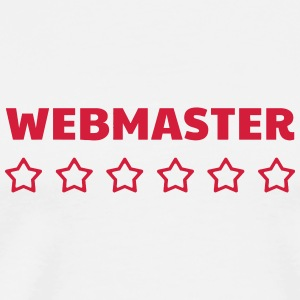Webmaster Internet Web Geek Website T-skjorter - Premium T-skjorte for menn
