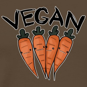 Vegan Carrot - Men's Premium T-Shirt