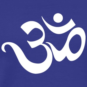 Om Sanskrit Yoga India - Men's Premium T-Shirt