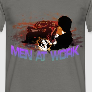 Man At Work - Men's T-Shirt