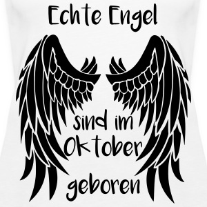 Engel Oktober Tops - Frauen Premium Tank Top