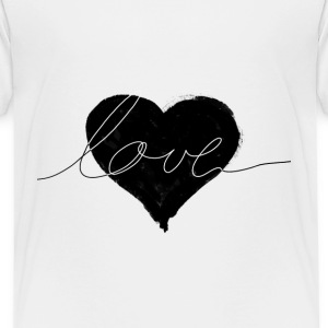 love and heart Shirts - Teenage Premium T-Shirt