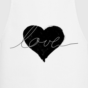 love and heart  Aprons - Cooking Apron