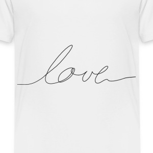 hand written love Shirts - Kids' Premium T-Shirt