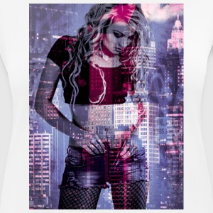 NEW YORK T-Shirts - Frauen T-Shirt atmungsaktiv