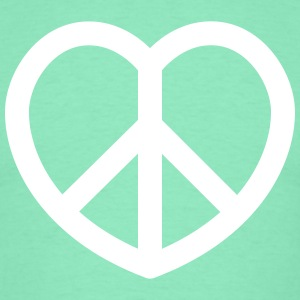 peace T-shirts - Mannen T-shirt