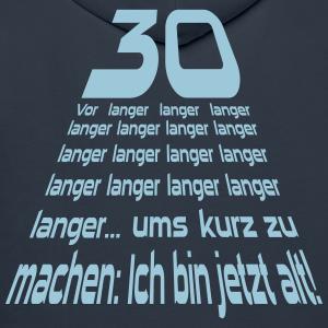 """Geburtstag T-Shirts mit """"30 Vor langer Zeit"""""""