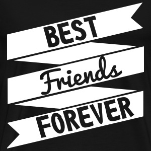 Best friends forever  - Männer Premium T-Shirt