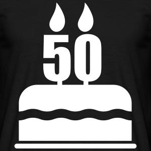 Pedir en l nea 50 cumplea os camisetas spreadshirt - Cumpleanos 50 anos hombre ...