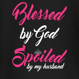 Blessed by God, spoiled by my husband Baby Long Sleeve Shirts - Baby Long Sleeve T-Shirt