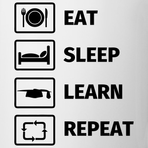 EAT SLEEP LEARN REPEAT Muggar & tillbehör - Mugg