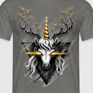 Deer Unicorn T-Shirts - Men's T-Shirt