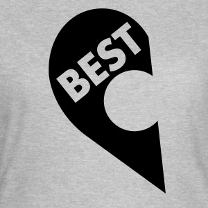 Best  (Besties) T-Shirts - Frauen T-Shirt