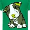 Pit Bull Terrier Puppy Greens - Teenage Premium T-Shirt