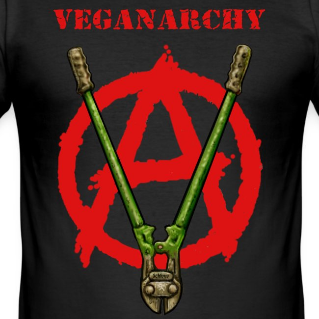 Veganarchy (slim fit)