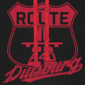 Route A40 Duisburg Pullover & Hoodies - Unisex Baseball Hoodie