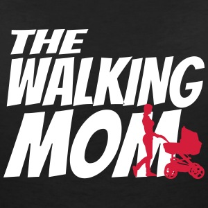 THE WALKING MOM T-Shirts - Women's V-Neck T-Shirt