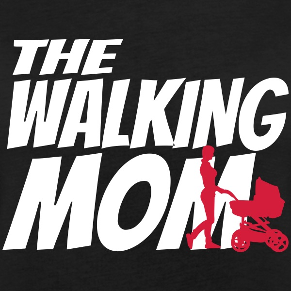 THE WALKING MOM T-Shirts - Women's Oversize T-Shirt