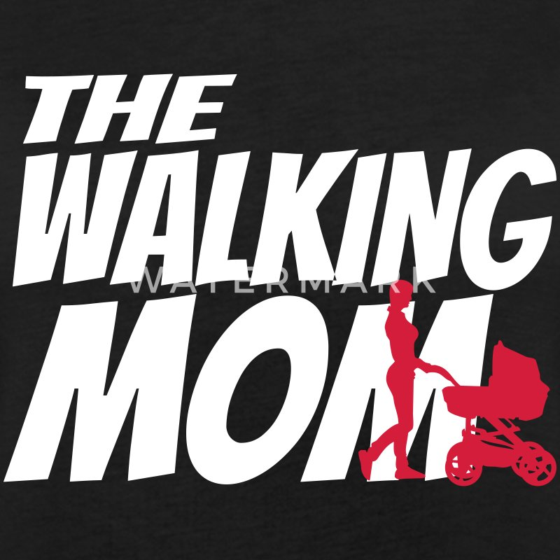 THE WALKING MOM T-shirts - Vrouwen oversize T-shirt
