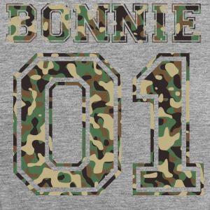 Bonnie 01 camo 2 Tops - Frauen Premium Tank Top