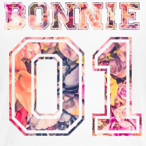 Bonnie 01 vintage flower  T-Shirts - Frauen Premium T-Shirt