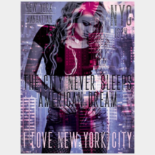 NEW YORK - THE CITY NEVER SLEEPS - DB #1  (D-D)