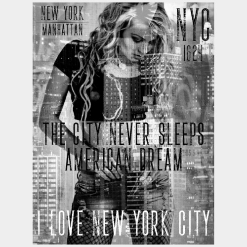 NEW YORK - THE CITY NEVER SLEEPS - DB #1  (D)