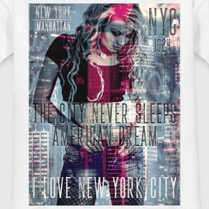 NEW YORK - THE CITY NEVER SLEEPS - DB #1  (M) T-Shirts - Teenager T-Shirt