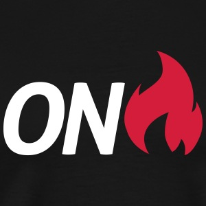 on fire T-Shirts - Men's Premium T-Shirt