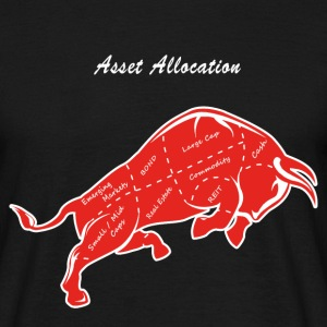 Asset Allocation - Männer T-Shirt