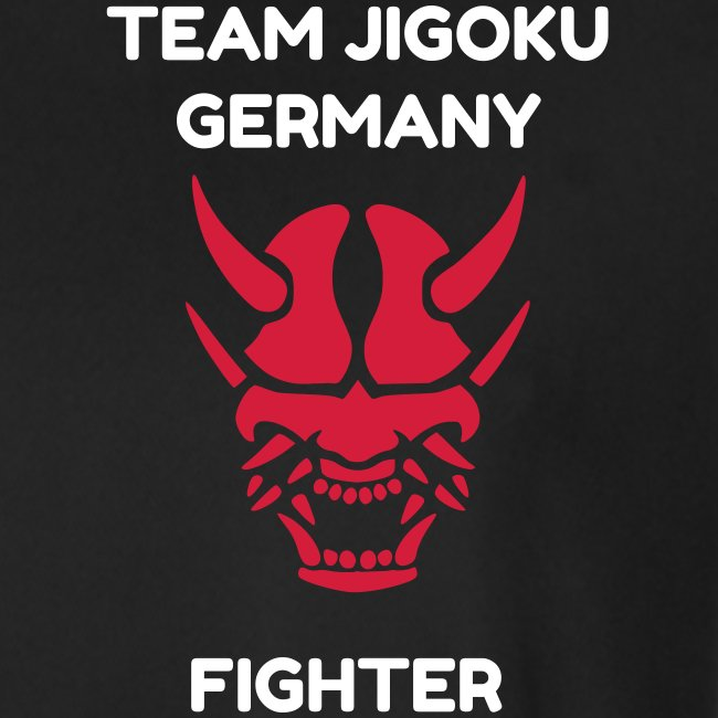 TJG Fighter men, Shirt, black