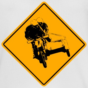 Motocross Road Sign Sportbekleidung - Männer Basketball-Trikot