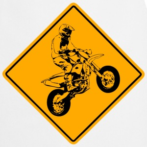 Supermoto Road Sign  Aprons - Cooking Apron