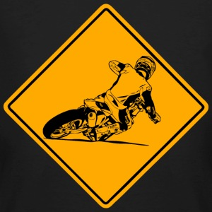 Supermoto Road Sign T-Shirts - Men's Organic T-shirt