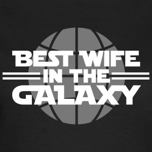 Best wife in the galaxy T-shirts - Dame-T-shirt