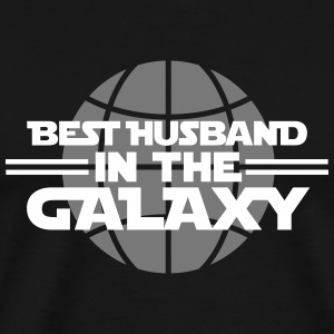 Best husband in the Galaxy Magliette - Maglietta Premium da uomo