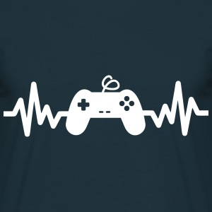 Gaming is life - geek gamer nerd T-shirt  - Herre-T-shirt